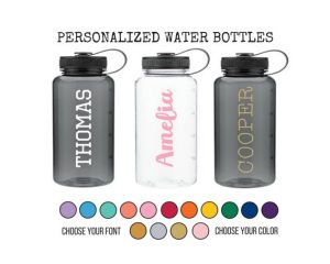 CUSTOM REUSABLE WATER BOTTLE